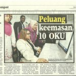 Signing Memorandum of Understanding (MOU) Between Damai Disabled Person Association Malaysia and Technology College MEA.