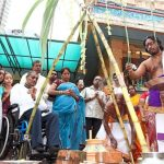 Disabled pray for better facilities in temples